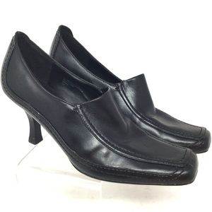 Etienne Aigner Women's Shoes Size 7M Black Leather